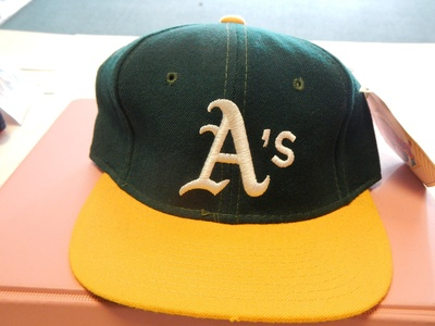 Oakland A's Fitted Baseball Hat By Sports Specialties Size 6 7/8