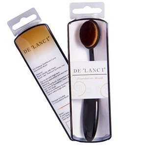 DE'LANCI Oval Makeup Brush Beauty Cosmetic Liquid Foundation Cream Concealer Powder Blush Make up Tool (Oval Brush) by DE'LANCI