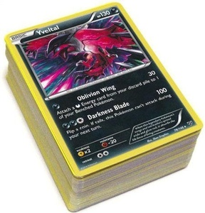 Pokemon X & Y Lot of 100 RANDOM Cards [10 Rares, 30 Uncommons and 60 Commons] by Pokemon x, pokemon y