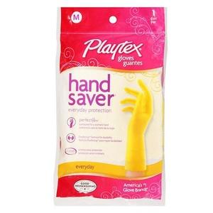 3 x Playtex Handsaver Gloves FlexStrong Formula, Medium 1 pr