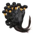 KKompany Women's Brazilian Hair Extensions Real 100% Human Virgin Remy Natural Premium Weave 100g Straight 12 inches by KKompany