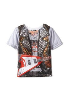 Faux Real Tees Toddler Rockstar (2 Years) by Faux Real Tees