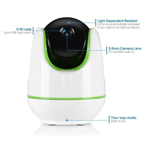 HD 960P Wireless WiFi IP Home Security Camera Network IR Night Vision Camcorder