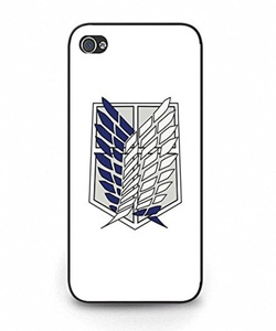 Iphone 5/Iphone 5s Case, MAKEUPCASES 2420 Style Attack On Titan Picture Printed Unique Designed Drop Proof Case Cover for Iphone 5/Iphone 5s