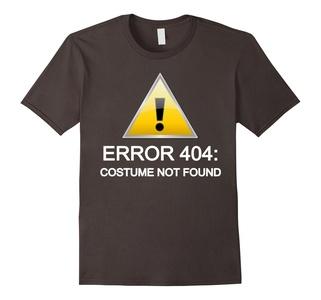 Error 404: Costume not found Halloween T-Shirt