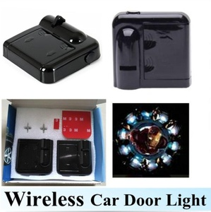 2pcs Wireless LED Car door Light Welcome Lamp Projector Cool Logo ghost shadow light No Drill Type (NO.437)
