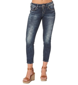 Silver Jeans Co. Suki Skinny Crop Rinse Wash 26