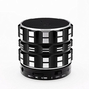 Outdoor Portable Mini Stereo Bluetooth Speaker Subwoofer Cannon , black