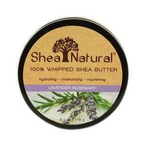 Shea Natural Whipped Shea Butter Lavender Rosemary - 6.3 oz , Shea Natural , Body Butters, Bathroom