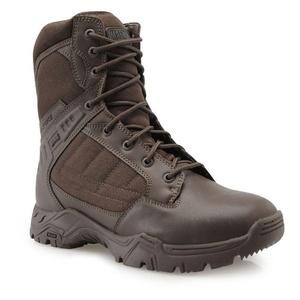 Mens Hi Tec Magnum Response II 8 Inch Boots Shoes Brown (UK 8 / US 9)