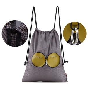 Foldable Backpack, Celaine Lovely Lighweight Nylon Travel School Shopping Bag Backpack Hiking Outdoor Bag, Dotted Brown