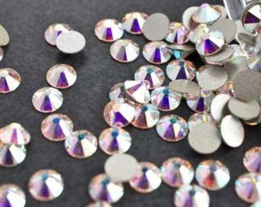 Swarovski Crystal Aurore Boreale (001 Ab) Rhinestone Gems - Small Pack - 2.4Mm (Ss8) 60 In Pack by Swarovski Element