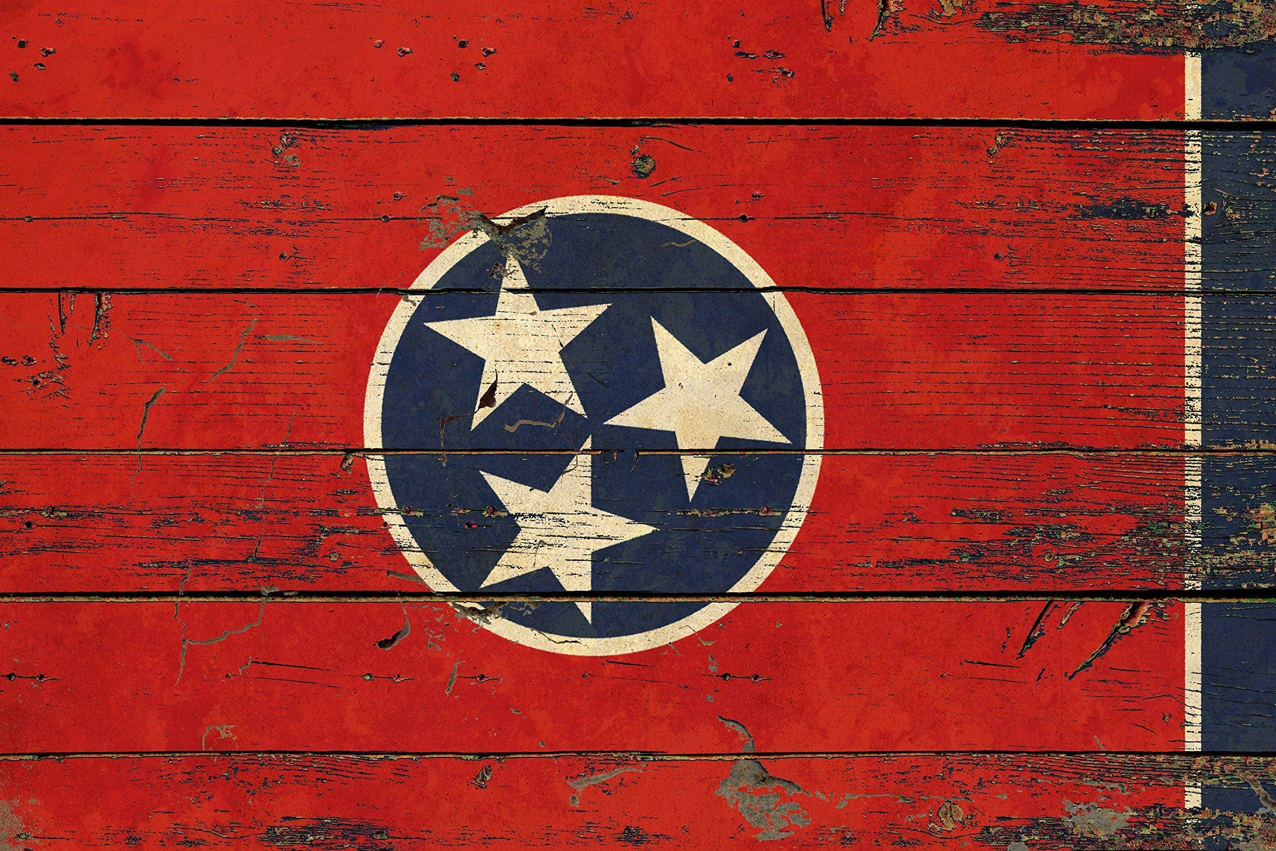 Online store tennessee state vintage flag gift ideas home Old home interior pictures value