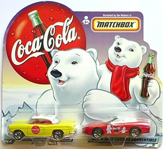 Matchbox Coca-Cola Dad and Son Cars by Coca-Cola