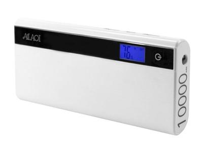 Motorola Moto G4 Play 10000Ma Power Bank With Digital Status Display And Dual Output White
