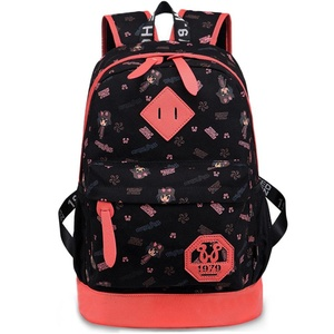 Canvas backpack/Women bags/College students ' leisure in wind bags/Backpack-A