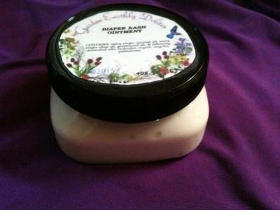 Organic Wild Crafted Diaper Rash Ointment