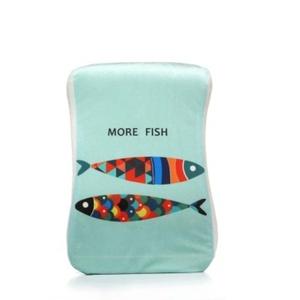 Cartoon Penguin / monster / fish / Owl Memory Foam Pillow Travel Pillows Nap Pillow (C)