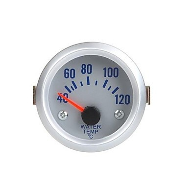 Water Thermometers with Sensor for Auto Car in Orange Light