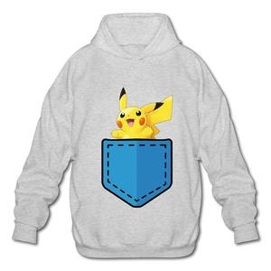PTR Men's Hooded Sweatshirt - Cartoon Spirit Ash Size M