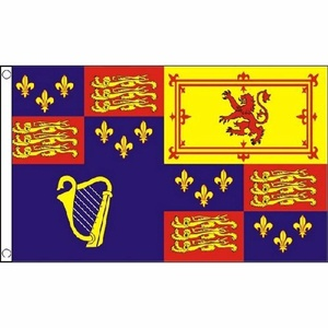 Royal Banner 1603-89 And 1702-07 Flag 5Ft X 3Ft British Army Military Banner New by Royal Banner 1603-89 and 1702-07
