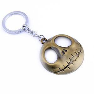 Nightmare before Christmas Keychain - Bronze Color