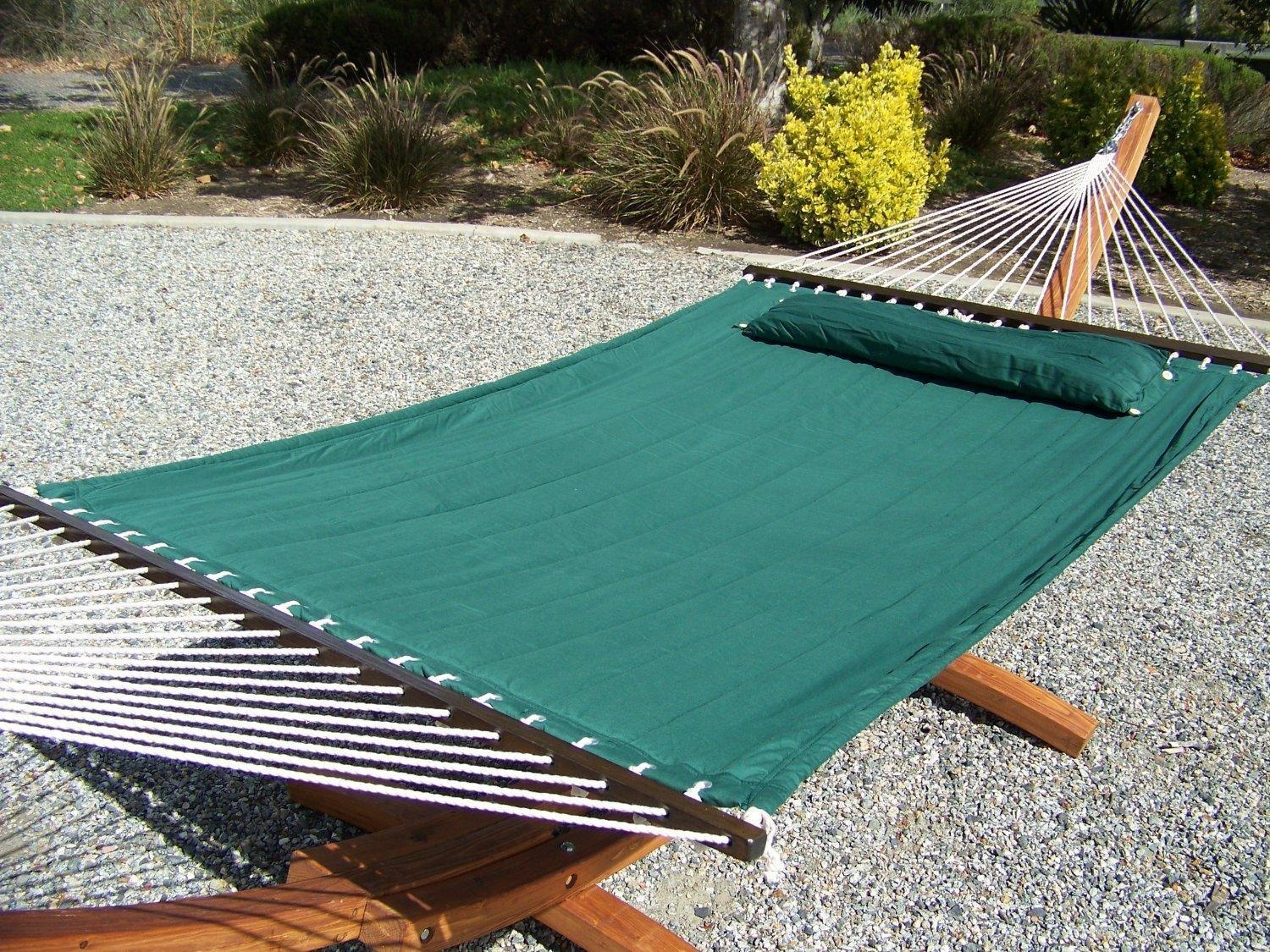projects free hammock teak finished garden with plan stand