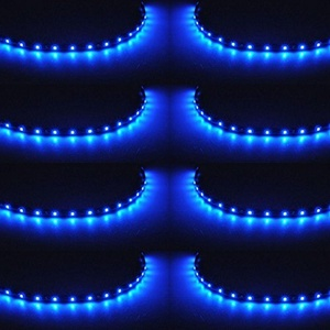 XT AUTO 8pcs 12V Super Bright 30cm 15 LED Flexible Waterproof LED Strip light For Car Interior & Exterior Decoration DRL Day Running Light Or Boat Bus Garden by XT AUTO