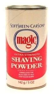 Magic Shave Softsheen Carson Extra Strength Shaving Powder, Red - 5 Oz (Pack of 3) by Magic