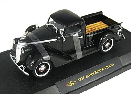 1937 Studebaker Coupe Express Pick-up [Signature 32418], Black, 1:32 Die Cast by Signature