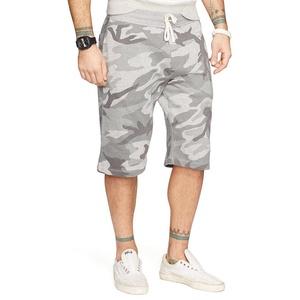 Denim & Supply Ralph Lauren Camouflage-Print Fleece Athletic Shorts