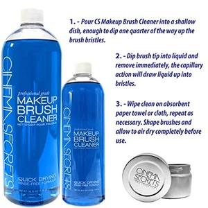 VALUE PACK: Vanilla Scented Cinema Secrets Brush Cleaner 32oz + 16oz Cinema Secrets Brush Cleaner + Cinema Secrets TIn for Brush Cleaner ($83 Value)
