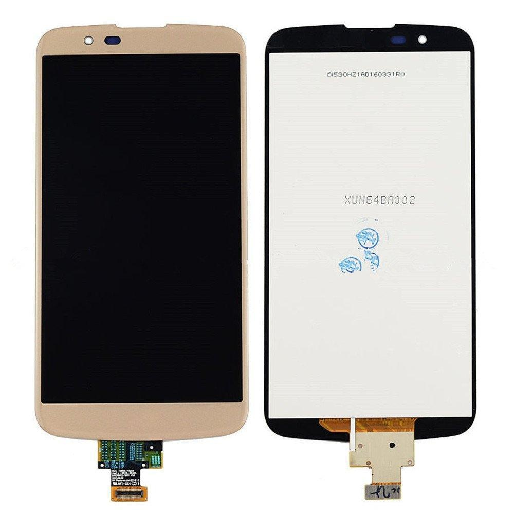 New LG K10 Touch Screen Digitizer+LCD Display Assembly Gold