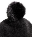 Hm 100% Acrylic Fine-knit Hat with Pompom