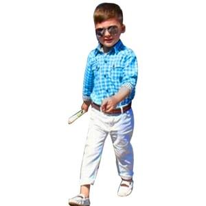 HANYI Kids Baby Boys Long Sleeve T-Shirt Clothes Outfits 3 Pcs