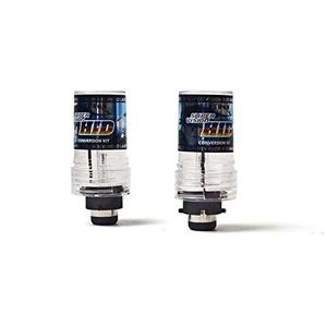 Meijunter 2PCS Replacement 35W HID Xenon Light Headlight Bulbs Lamp Conversion Kit D2S 6000K