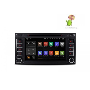 EHD for Volkswagen Touareg, Transporter, 7 Inch Quad Core Android 5.1 Lollipop Car Stereo Radio Capacitive Touch Screen DVD Player GPS 1080P Video Screen Mirroring OBD2 Wifi CANbus