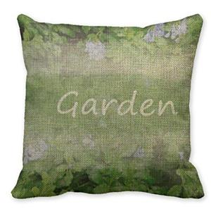 Mooninght Bush Plant Home Decor Linen Pillowcases For Sofa