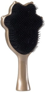 Pet Angel Detangling Grooming Brush - Gently Detangles Dry, Wet, Or Matted Fur And Hair - Ergonomic Shape With Heat Resistant Antibacterial Bristles - For Most Pet Coats - Metallic Brown by Tangle Angel