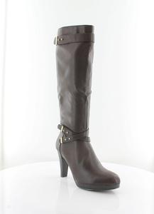 New @titude Belt It Up Women's Boots Tan Size 9.5 M
