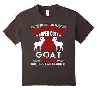 Kids Goat Shirt - Goat Lady Shirt 4 Asphalt