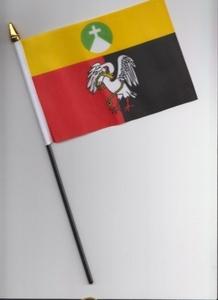 Buckinghamshire County Hand Flag 25cm by 1000 Flags