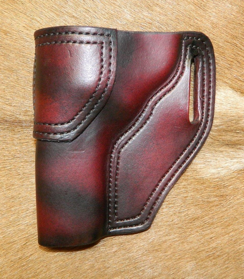 Online Store: Gary C\'S Avenger Lh Leather Holster For The S&W L Frame 4\