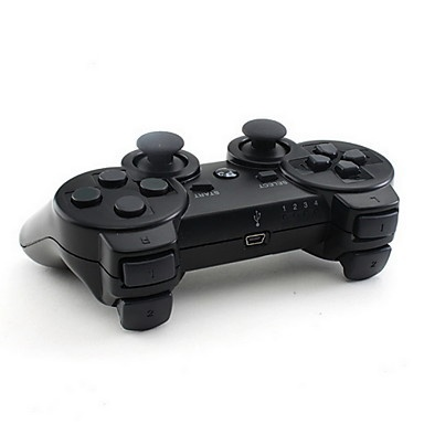 Black Wireless Controller for Sony PS3
