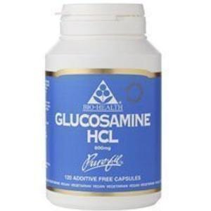 Bio-Health Glucosamine HCL 600 mg 120 caps by Bio-health