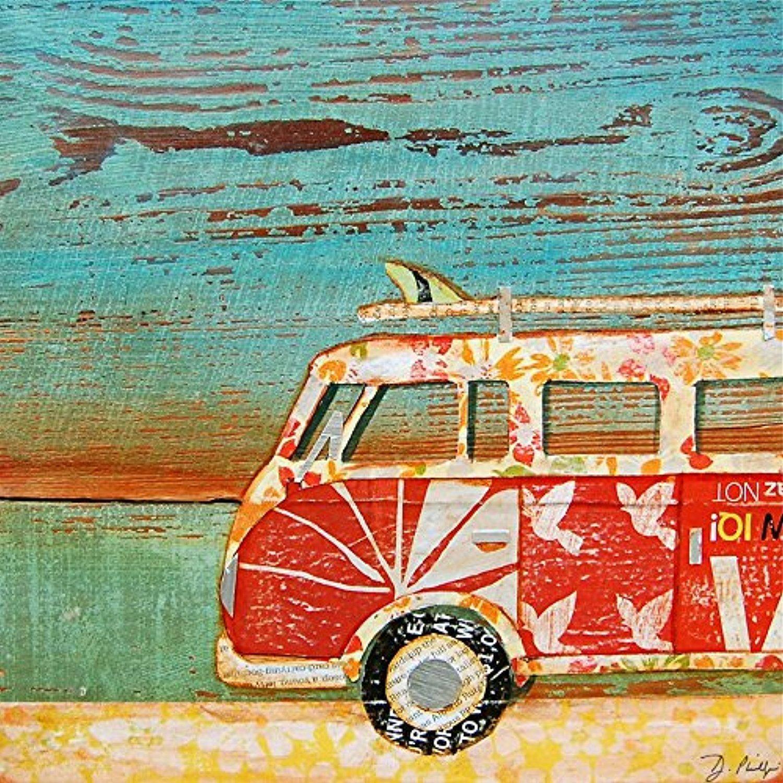 Online store santa cruise danny phillips art print for Vintage ocean decor