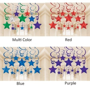 Blue Swirl Shooting Stars 30 Piece Party Pack by Party Bags 2 Go