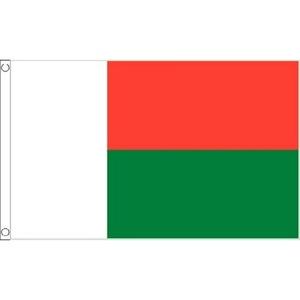 Madagascar Flag 5Ft X 3Ft Madagascarn Africa African Nation Banner With Eyelets by Madagascar 3