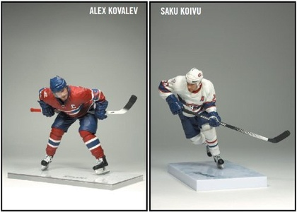 McFarlane Toys NHL Sports Picks Canada Exclusive Centennial Action Figure 2-Pack Saku Koivu and Alex Kovalev (Montreal Canadiens) by SportsPicks: NHL Hockey