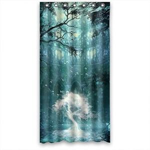 Magic Bright Tree Bestselling Fashion Shower Curtain 36(W)X72(H)